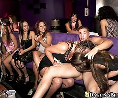 Crazy party girls go nuts over all the hung guys we brought out on this update