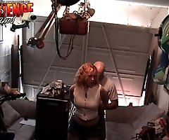 Rona gets busted having sex at the garrage by her husband Mike