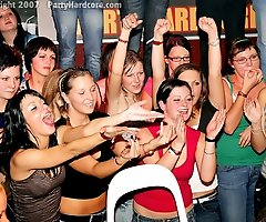 CFNM Blowjobs For Everyone at Wild Party Filled with Amateur Drunk Babes